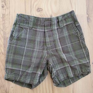 Carter's Boy's Plaid Shorts